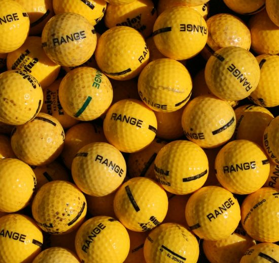Golf Balls Yellow
