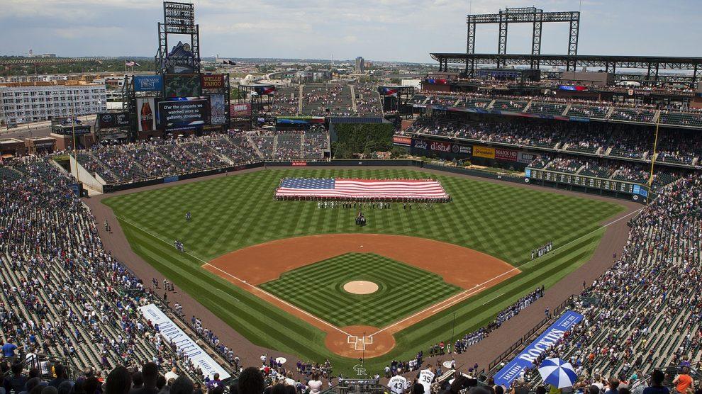 Baseball Field MLB