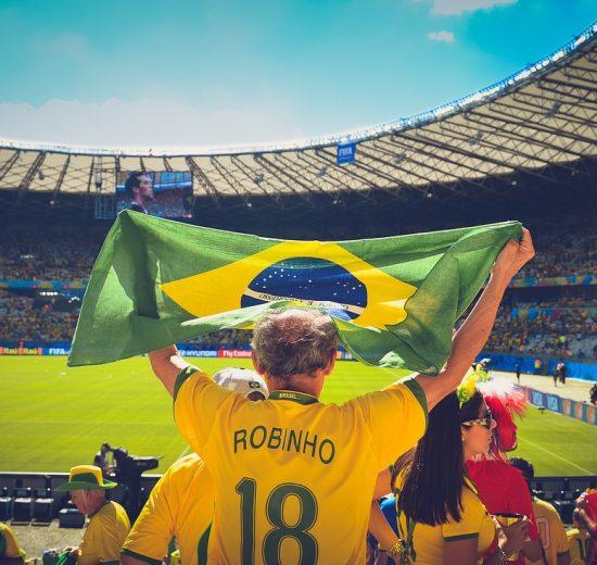 Brazil World Cup 2014 Stadium People