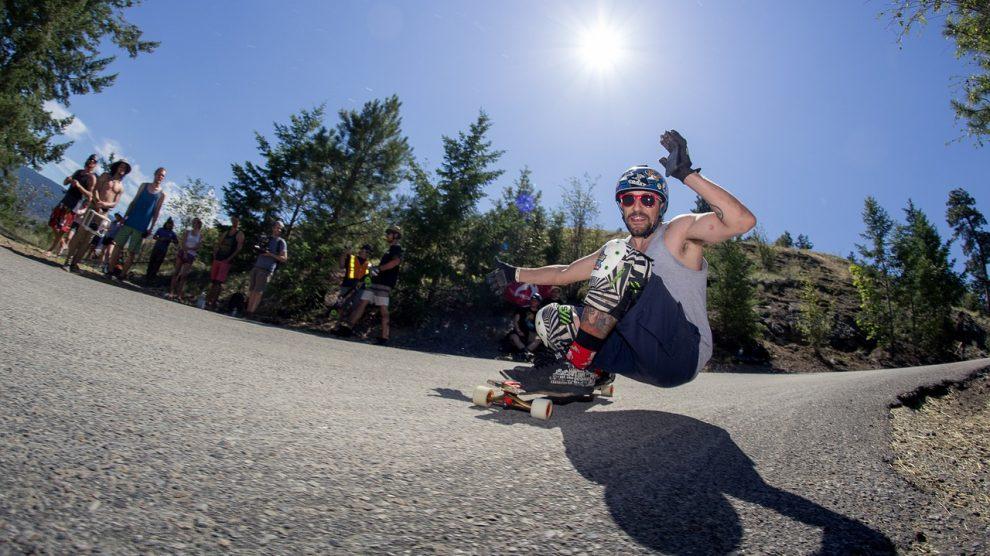 Longboard Skateboarding