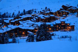 Ski Resort Alps